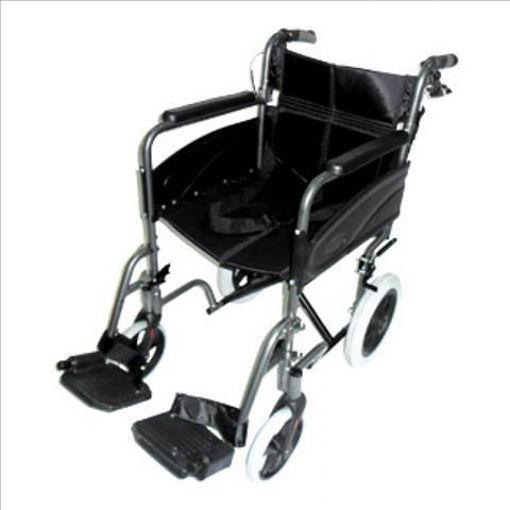 圖片 AIDAPT 輕巧式鋁合金輪椅 (黑色)