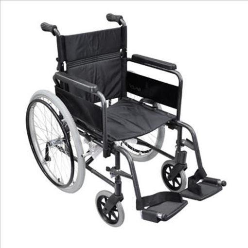 圖片 AIDAPT 豪華型自助輪椅(黑色)