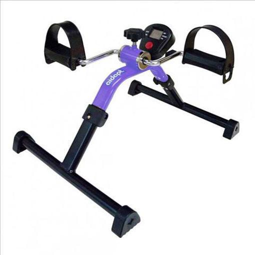 圖片 AIDAPT 可摺疊腳踏復康單車(附有電子儀) - 紫色