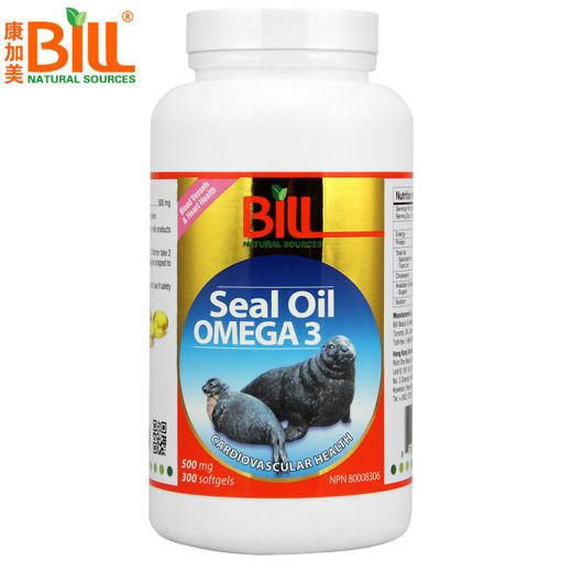 圖片 康加美海豹油 500毫克 300粒軟膠囊