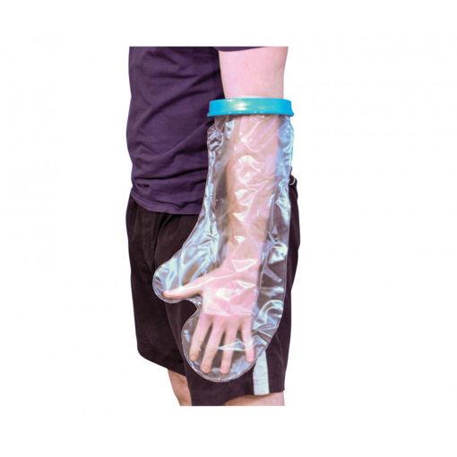 圖片 AIPDAT - 沐浴防水保護手套 - 加寬成人前臂