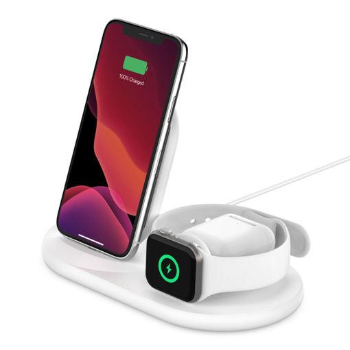 圖片 Belkin BOOST↑CHARGE™Apple 裝置專用 3 合 1 無線充電器
