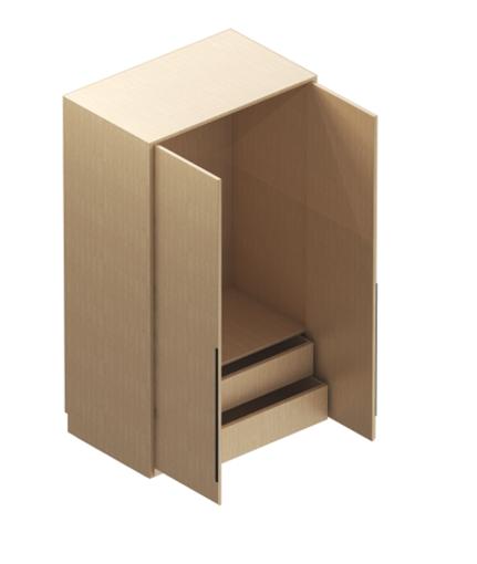 圖片 德國寶雙門衣櫃(W)800x(D)590x(H)2000mm