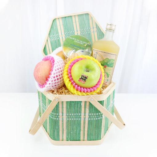 圖片 中秋水果特式禮籃 (日本基本果籃A)