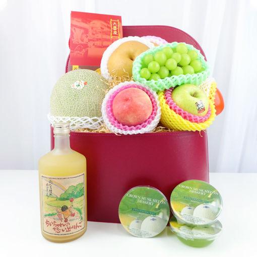 圖片 中秋水果特式禮籃 (日本頂級果籃C)