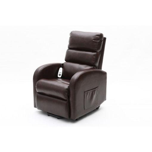 圖片 Ecclesfield 系列可升降電動卧椅(小型) - 深棕色