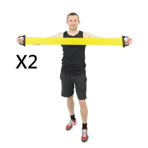 圖片 AIDAPT 彈力運動帶2條及壓力球2個