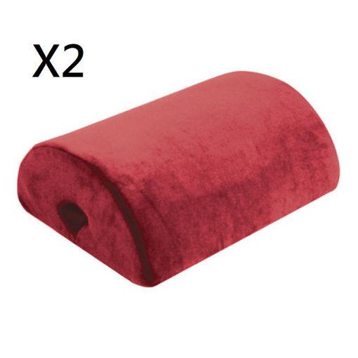 圖片 AIDAPT - 4合1功能軟墊 - 紅色 (兩件裝)