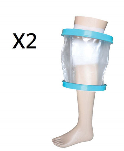 圖片 AIPDAT - 沐浴防水保護套 - 成人膝蓋款  (兩盒裝)